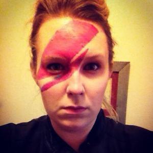 Jehn Glynn David Bowie Halloween Ziggy Stardust
